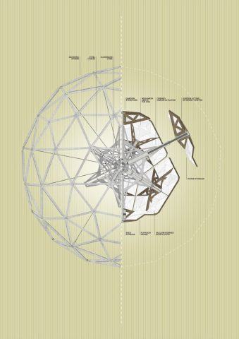 0_drawing_geodesic-sphere_part-section