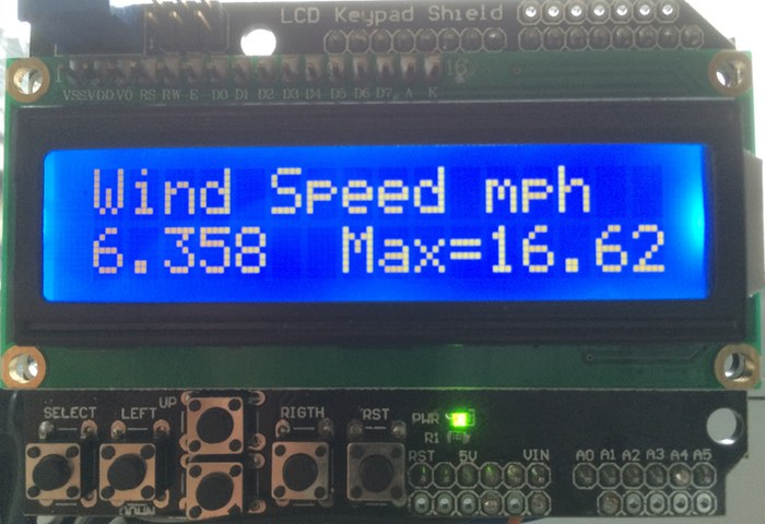 How to Build an Arduino Wind Speed Meter Anemometer #CitizenScience