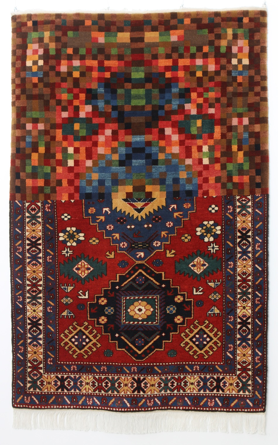 Faig Ahmed textile traditional Azerbaijani rugs 7