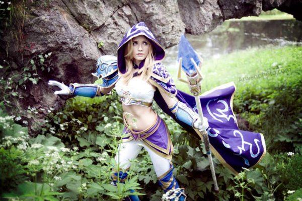 Jaina Proudmoore cosplay 1