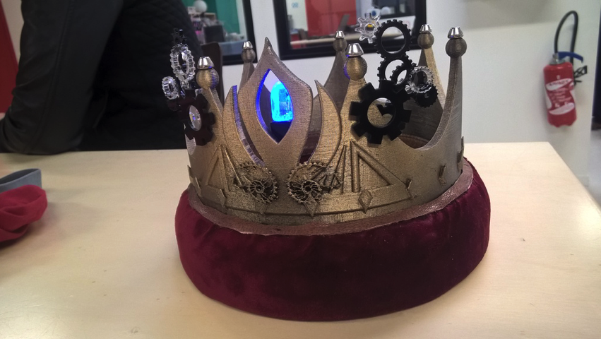 Jenny s crown by whiplash42 Thingiverse