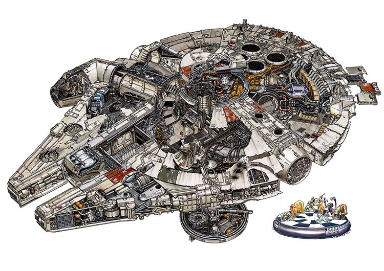 Millennium Falcon 180dpi 2977x2105