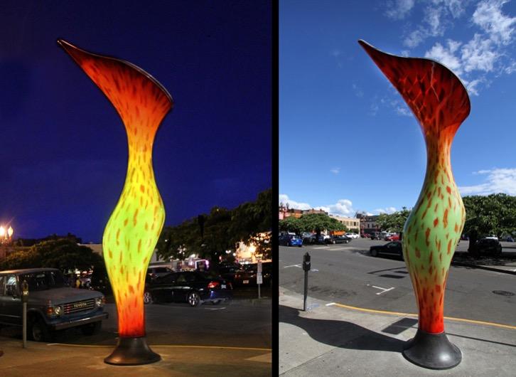 Nepenthes Solar powered sculpture Dan Corson 2