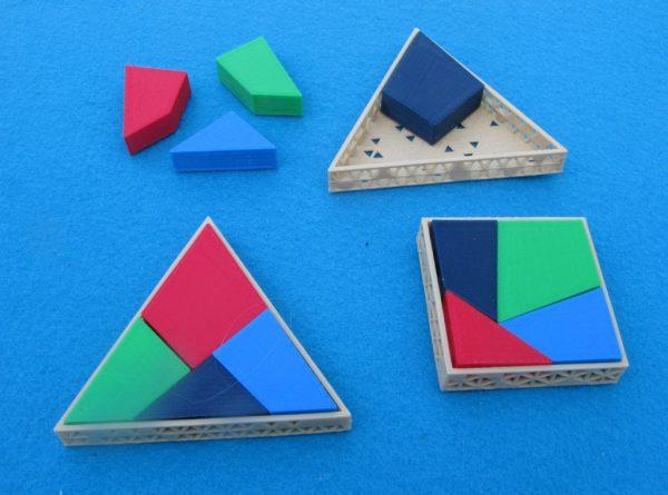 Square into Triangle Puzzle
