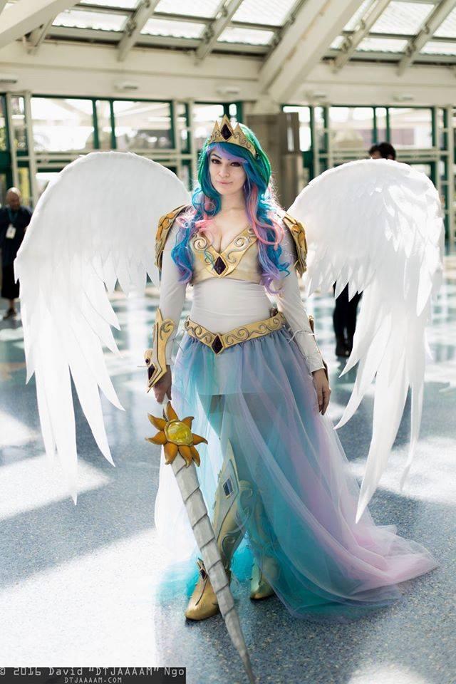 Royal Princess Celestia Costume « Adafruit Industries ...