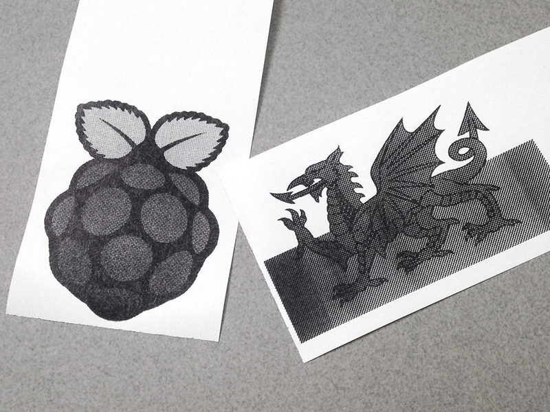 Raspberry pi testprints