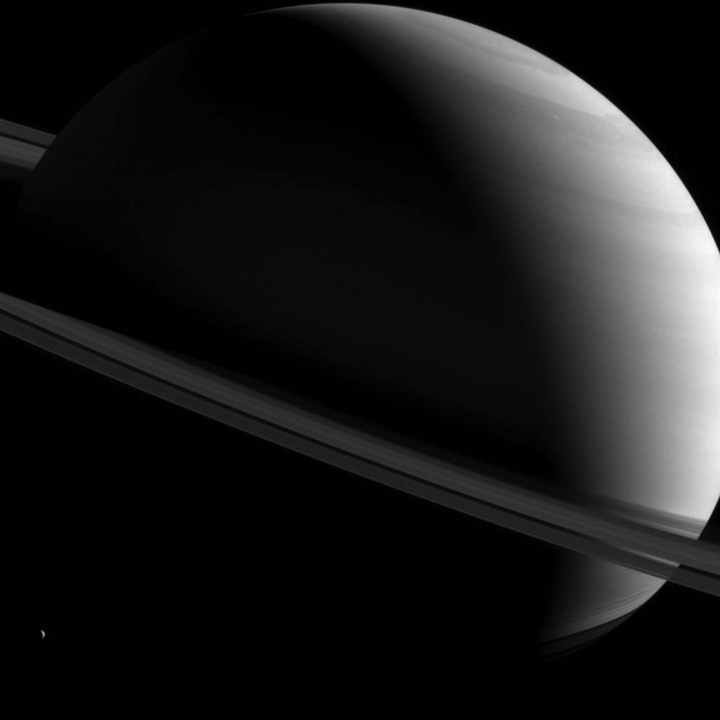 Saturn askew
