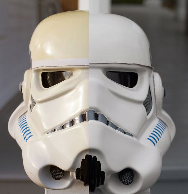 How To Repair UV Discoloration On Stormtrooper Armor And