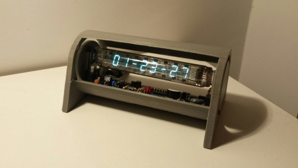 vac tube clock