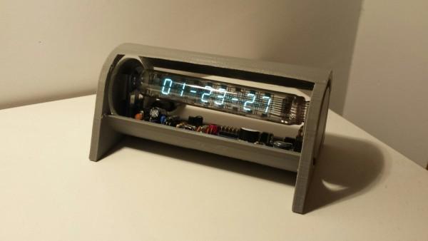 vac tube clock