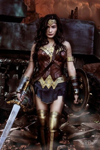 wonder woman cosplay 1