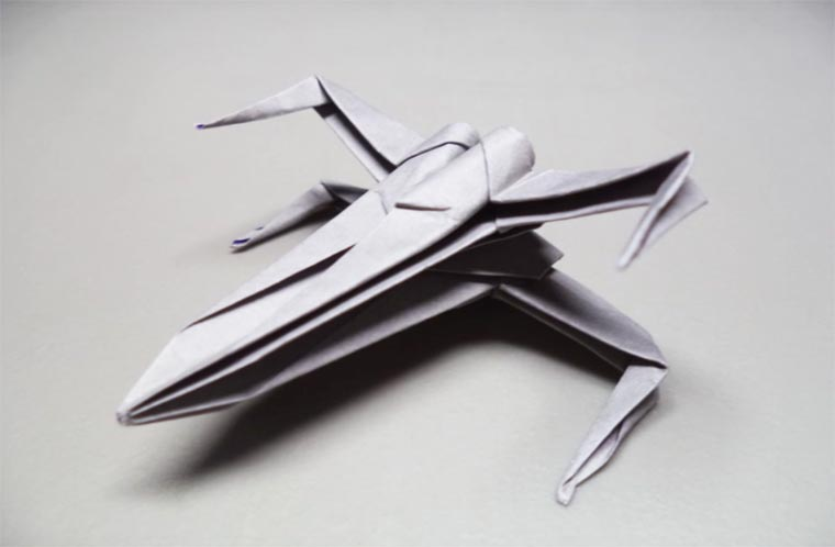 X wing origami 7