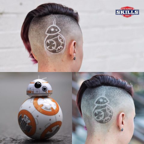 BB8 hair
