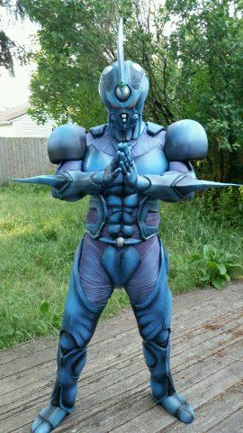 Guyver cosplay 1