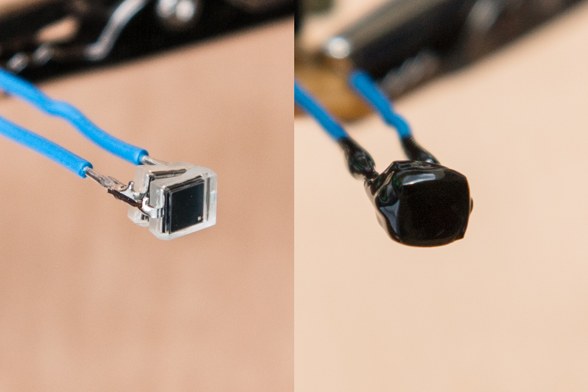 Photodiode-with-Liquid-Rubber-Coating