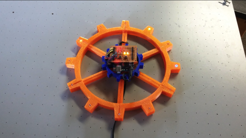 RGB Arduino Clock by jclymer01 Thingiverse