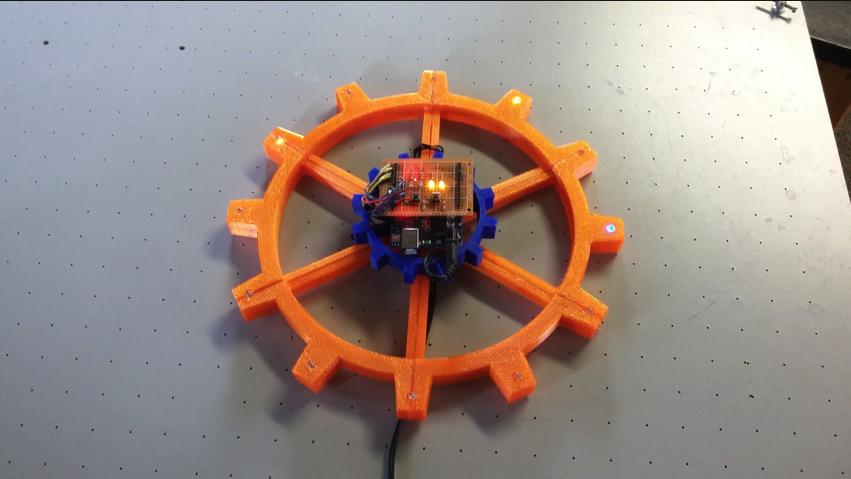 RGB Arduino Clock by jclymer01 Thingiverse
