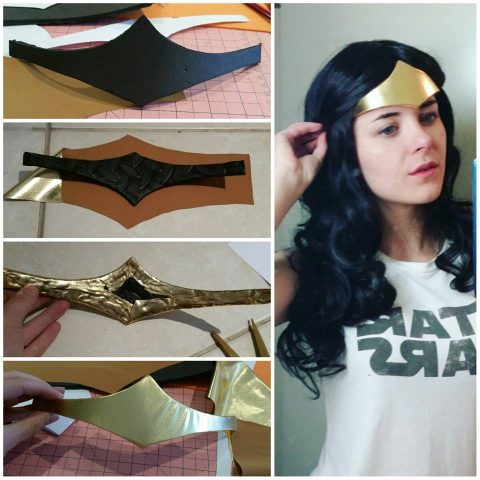Steampunk wonder woman cosplay 3