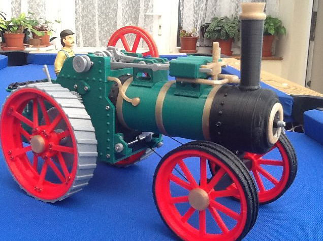 Traction Engine by cabbageheart Thingiverse