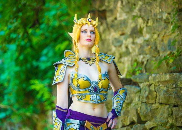battle queen zelda costume 1