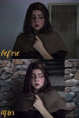 blind arya cosplay 3