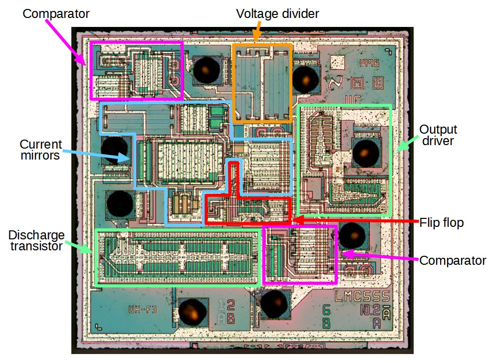 Cmos 555 Timer Structure Explained And Reverse Engineered