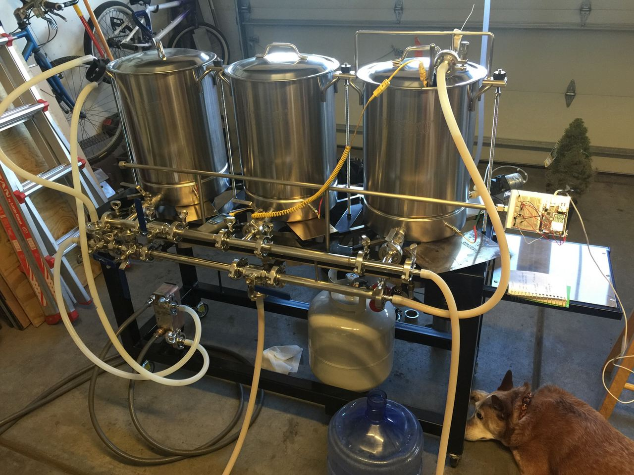 Brewbench is a home brewing monitor system with an