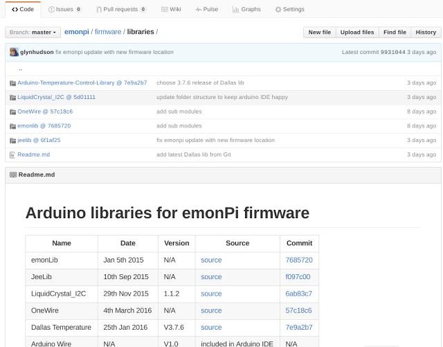 emonpi firmware libraries at master · openenergymonitor emonpi