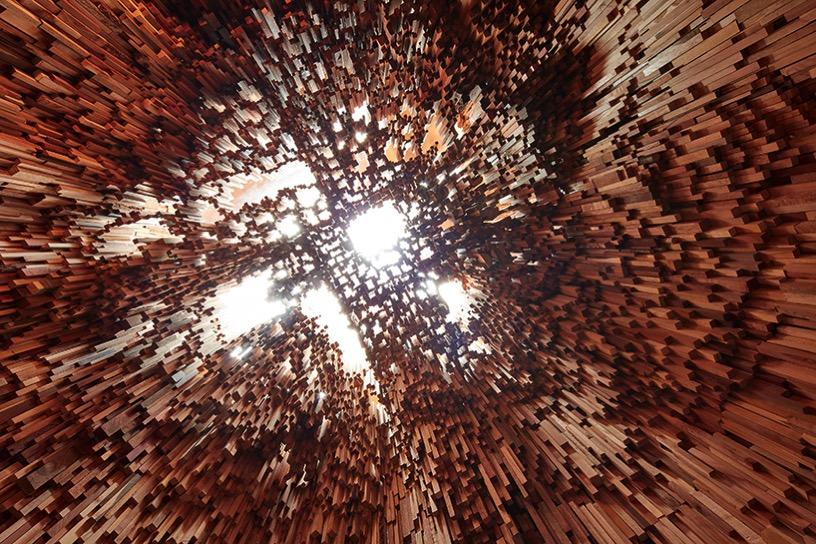 Katie paterson zeller moye hollow trees designboom 08