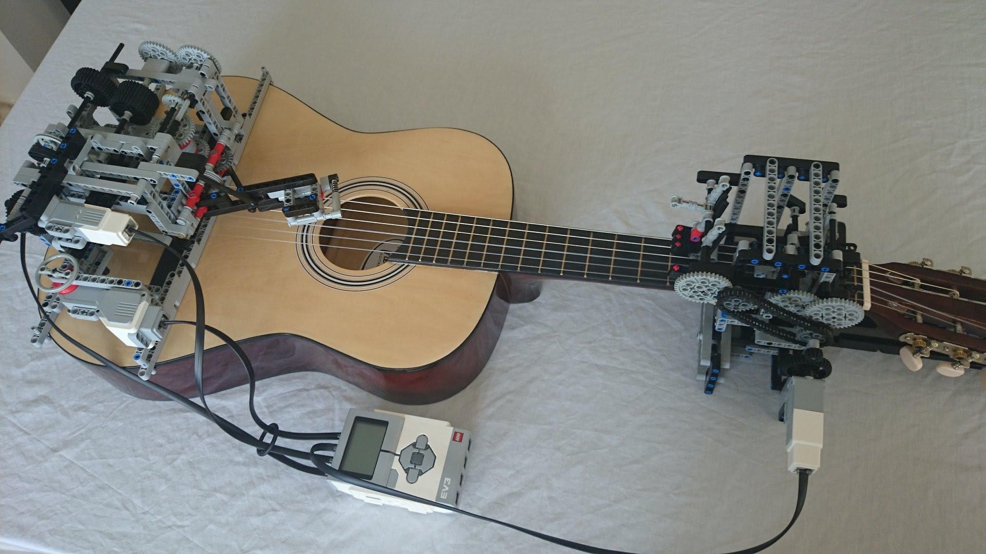 Camera Lego Mindstorm : Lego mindstorms ev guitarbot plays little talks by of monsters
