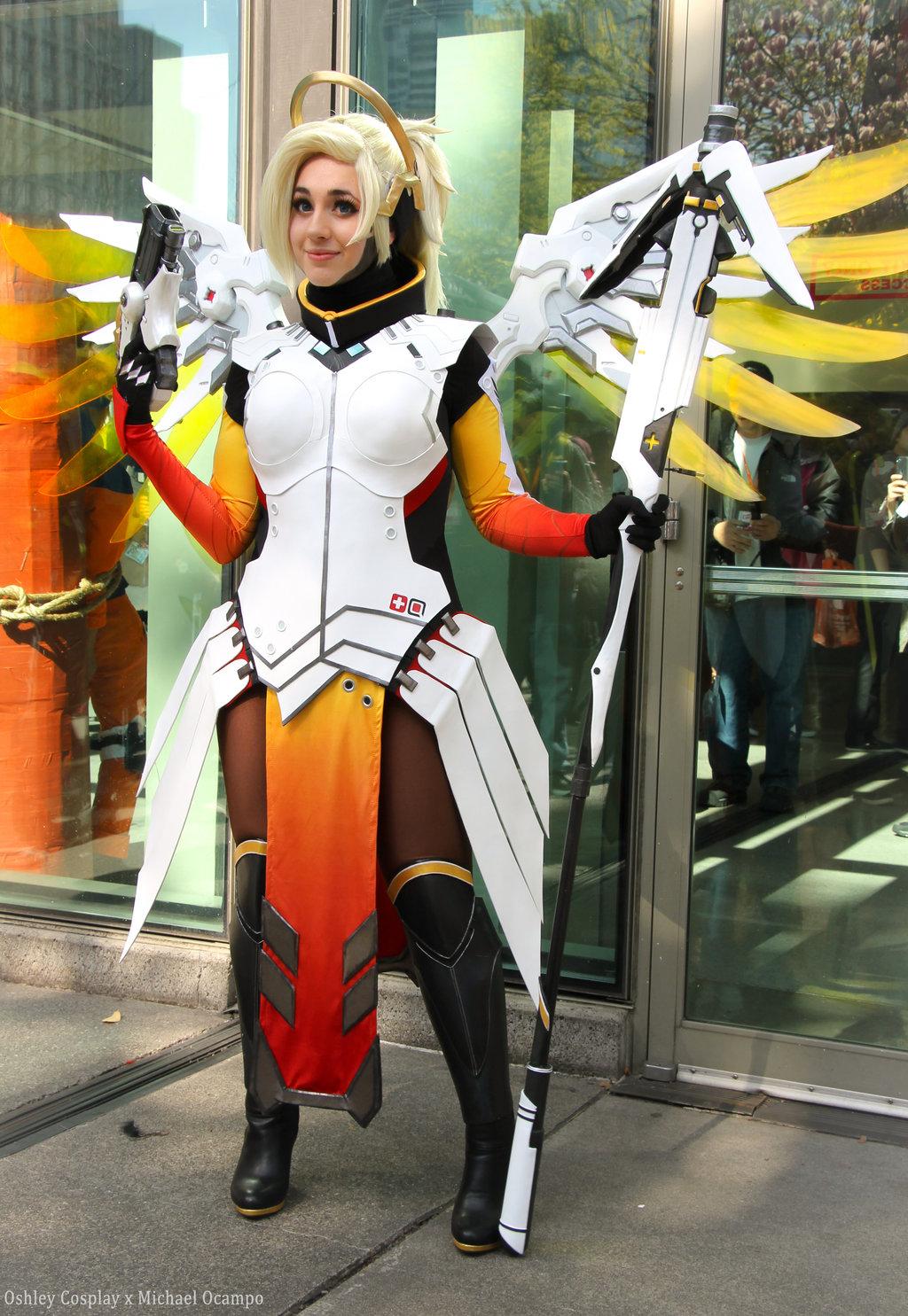 cosplay_This Overwatch Cosplay Shows No Mercy « Adafruit Industries – Makers, hackers ...