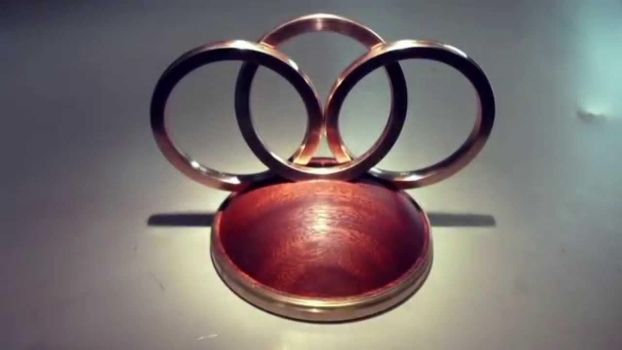 three interlocking rings