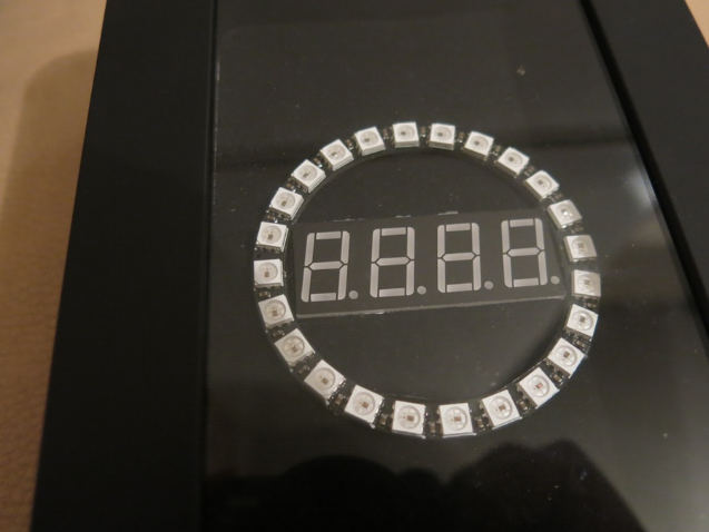 neopixel ring clock