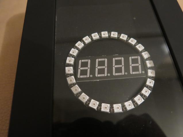 neopixel ring clock