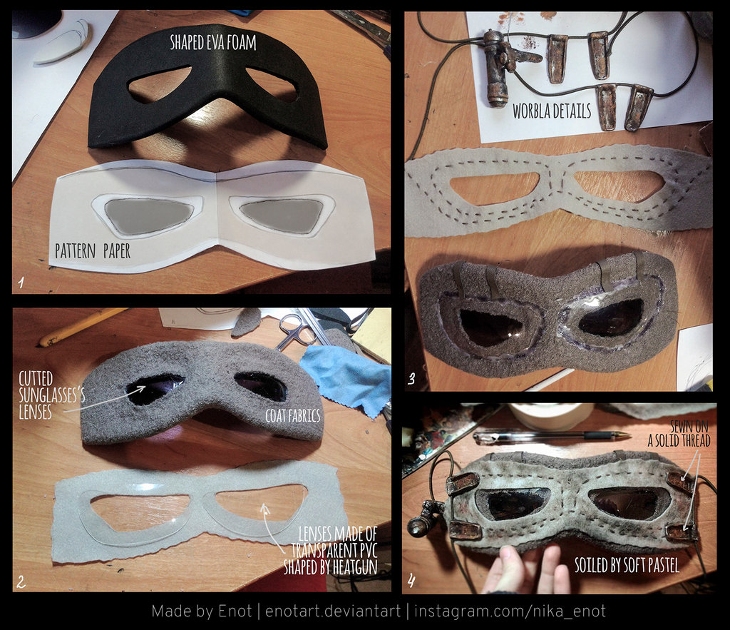 How To Make Rey's Goggles From Star Wars: The Force