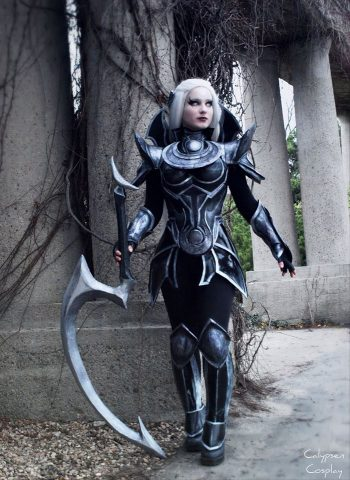Diana League of Legends cosplay 1