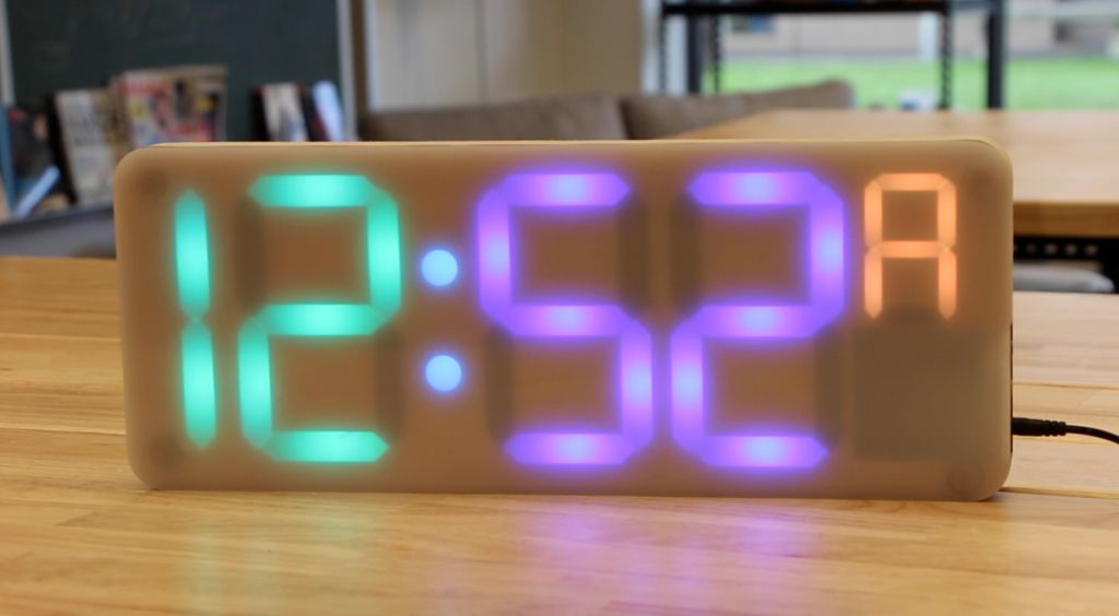 Classroom clock build for educators makereducation