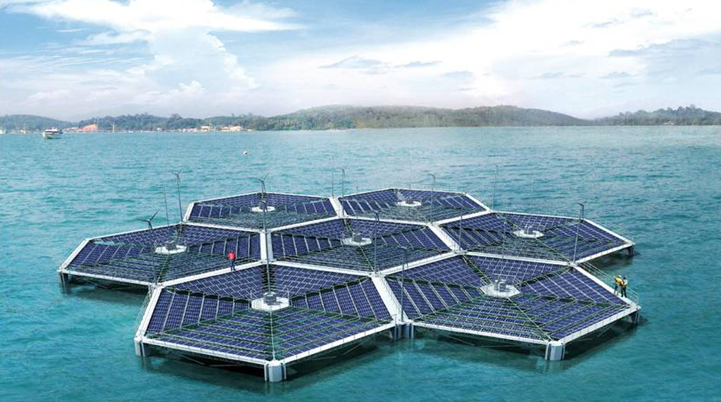 Floatovoltaics Produce Renewable Energy Mitigate