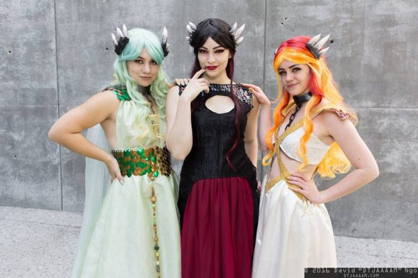 Game of Thrones Dragons cosplay 2