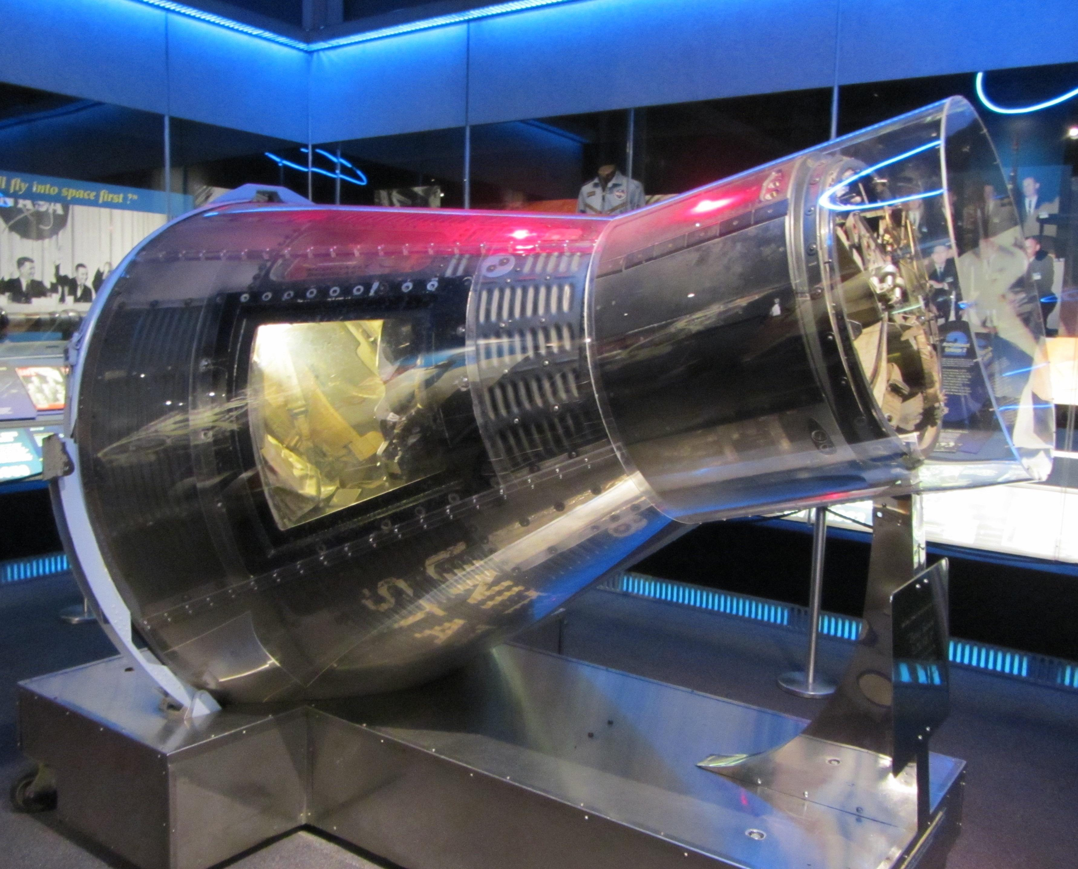 MA-8_Sigma_7_Astronaut_Hall_of_Fame,_Titusville,_FL