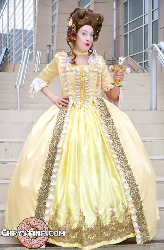 Rococo Belle costume 1