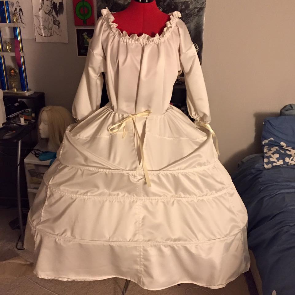 Rococo Belle costume 2