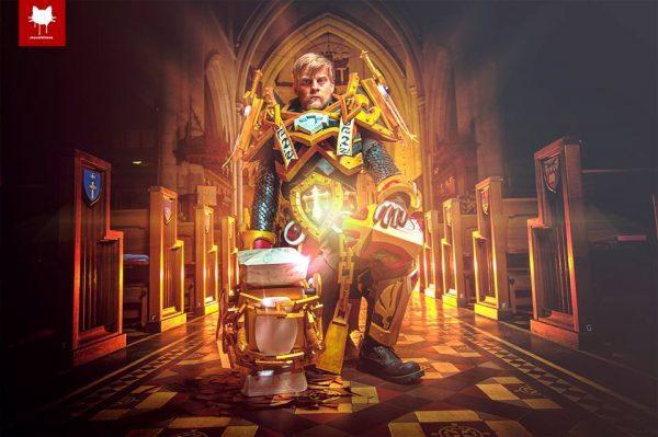 Uther Lightbringer Cosplay 1