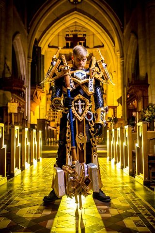 Uther Lightbringer Cosplay 2