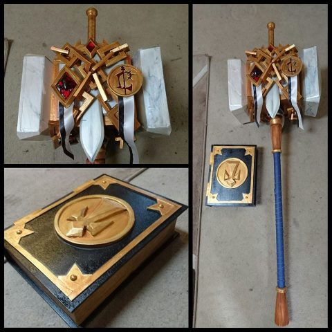 Uther Lightbringer Cosplay 3