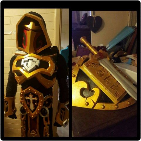 Uther Lightbringer Cosplay 4