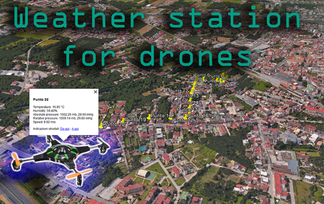 Weather Station for Drones Hackster io