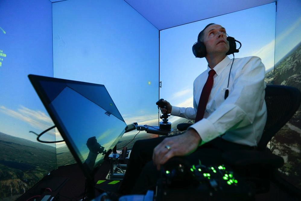 Artificial intelligence fighter pilot ai dogfight