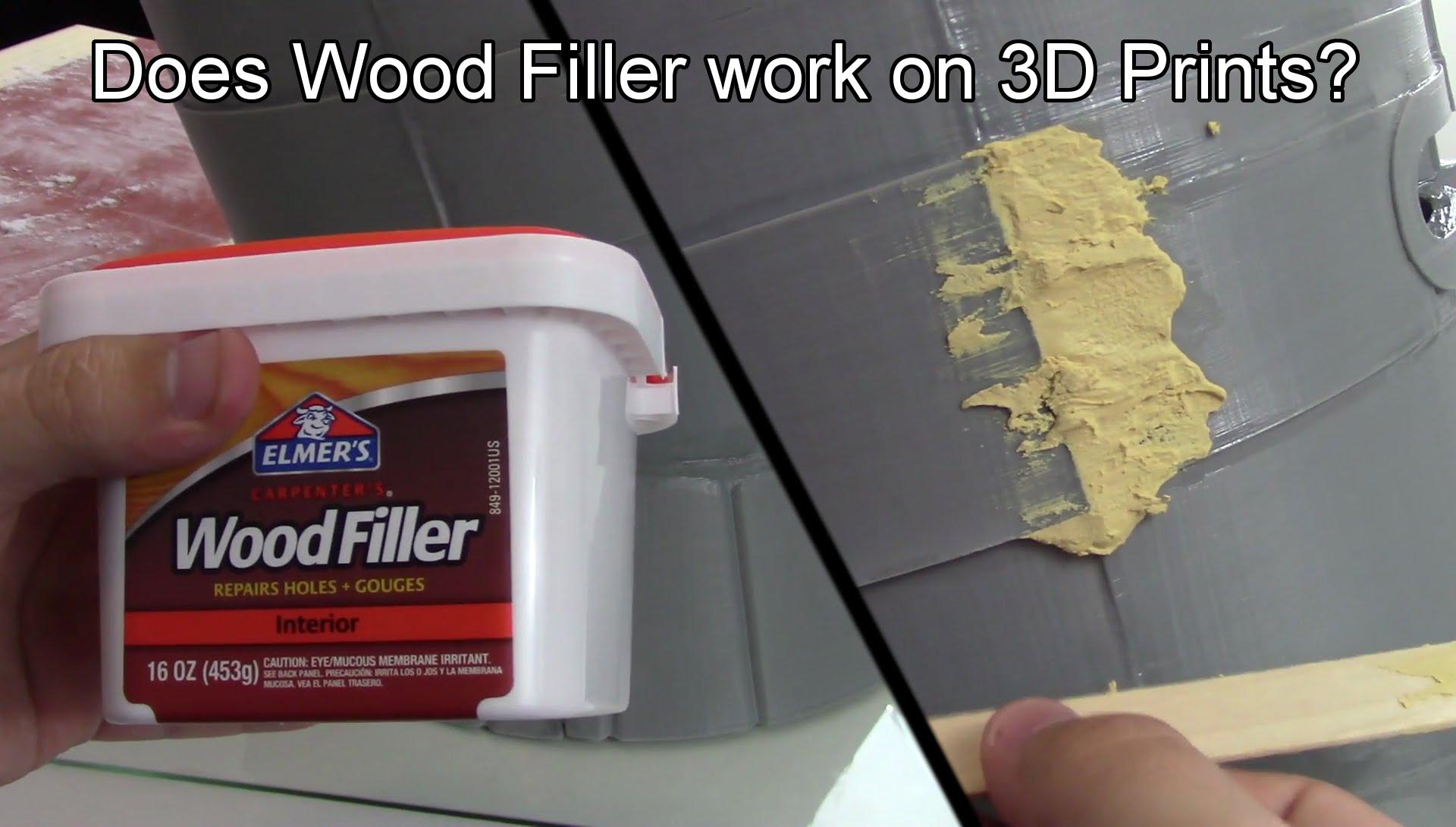 Does Wood Filler Work On 3d Prints 3dthursday