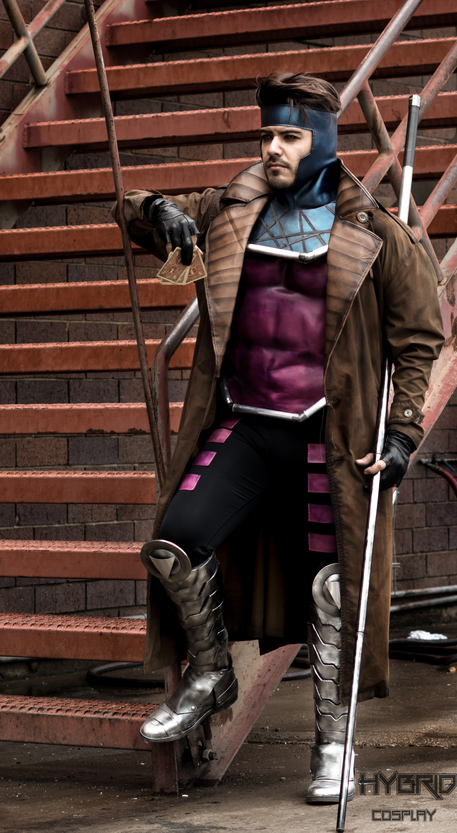 Excellent '90s Gambit Cosplay « Adafruit Industries ...